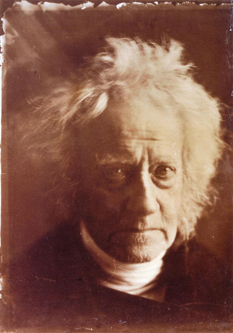 Sir John Herschel, by Julia Margaret Cameron