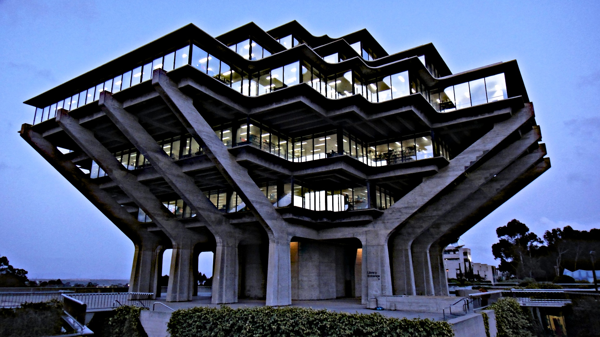 Geisel Library, University of California San Diego La Jolla Campus San Diego, California