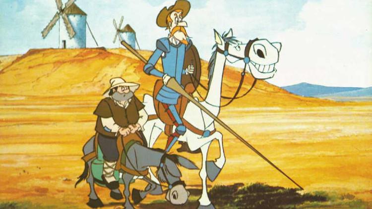 Don Quijote de la Mancha - Serie de animación