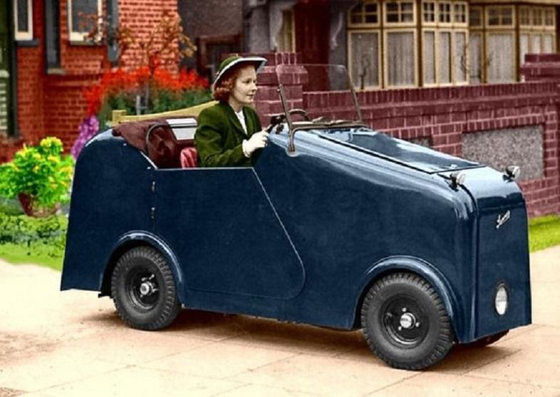 El Lamar británico, uno de los muchos vehículos para inválidos