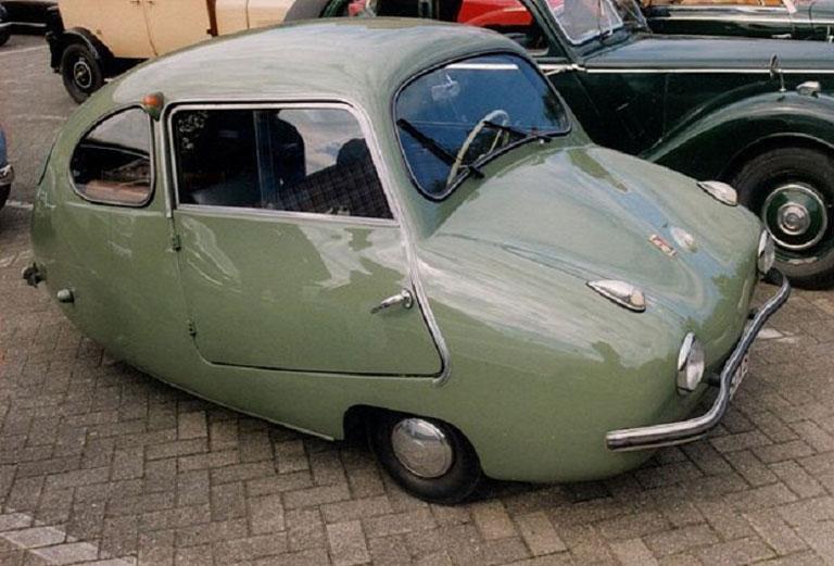 Fouldmobil, uno de muchos diseños alemanes de tres ruedas