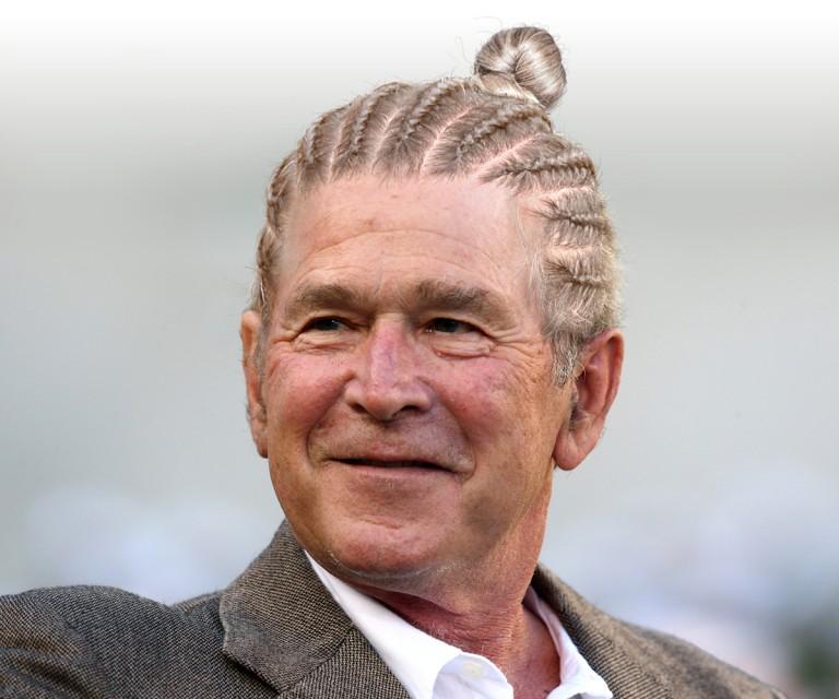 George Bush moño