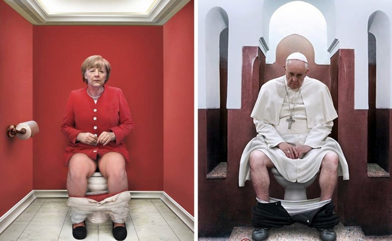 Merkel Papa Francisco Guggeri
