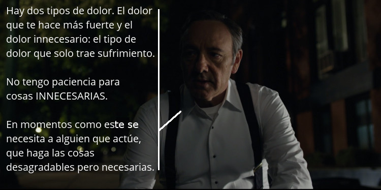 House of Cards - El dolor 02