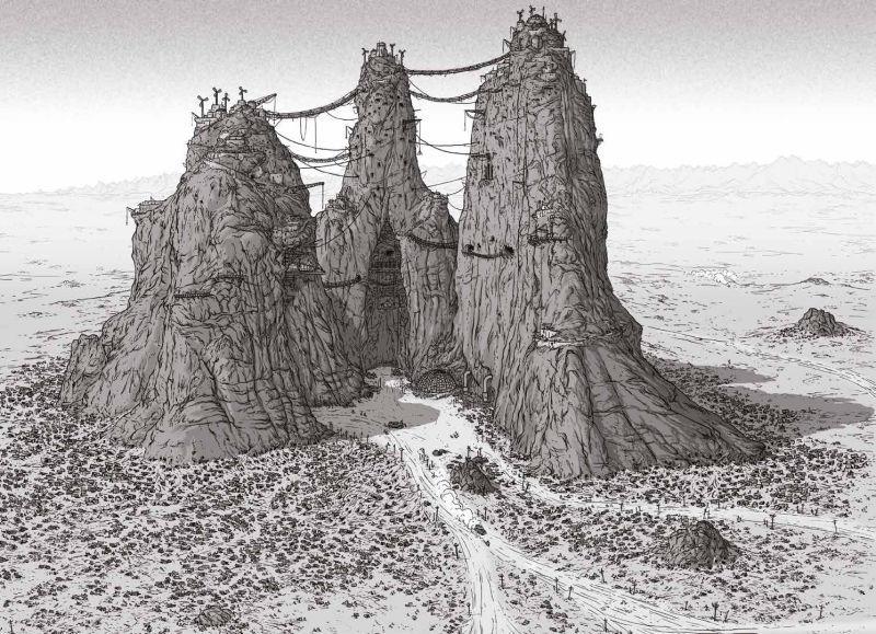 La Ciudadela por Peter Pound