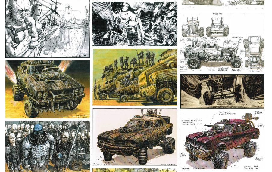 Mad Max Fury Road tiene tono de novela gráfica para adultos.