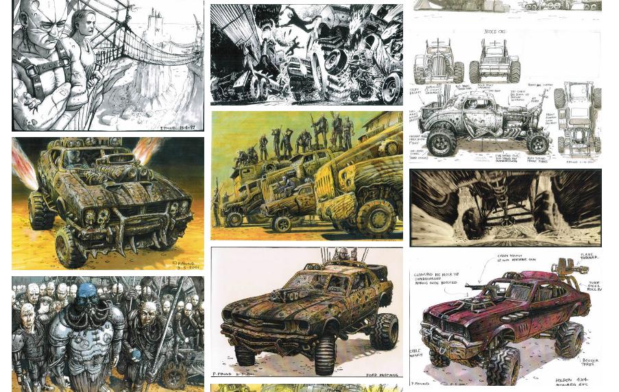 Mad Max Fury Road - arte conceptual de Peter Pound