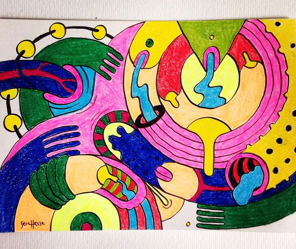 Suruba colorida Daniel Marques