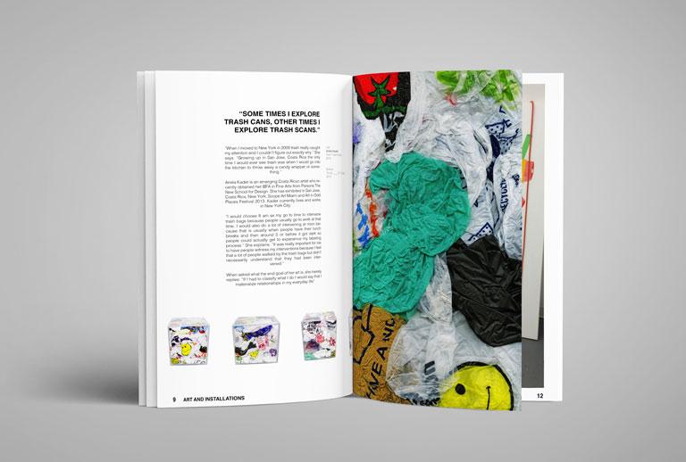 adhesivo magazine