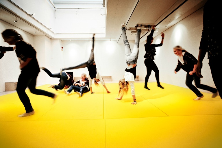 In the Dance Hall you can dance, yell and express yourself physically_Design RosanBosch_Photo Kim Wendt