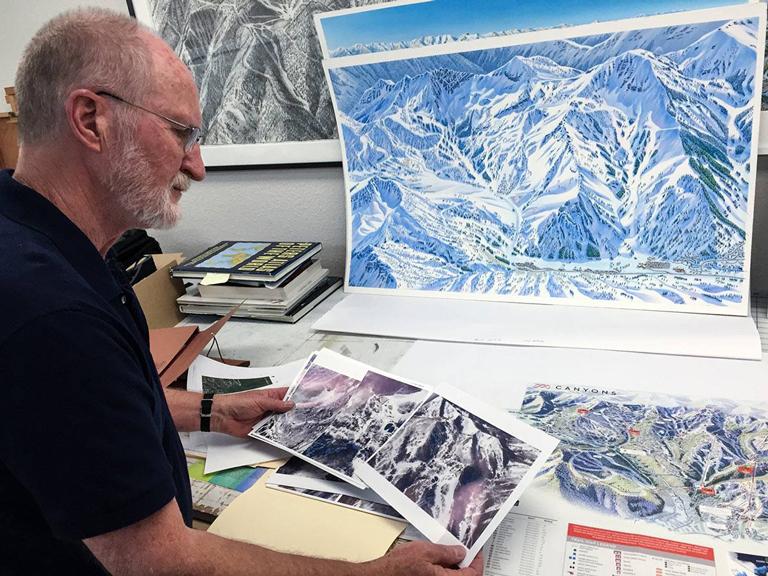 James Niehues jim-at-his-studio