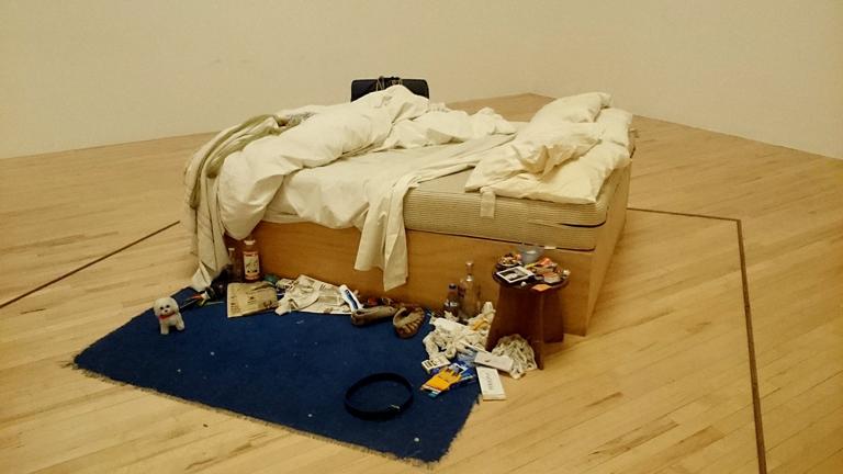 'My bed', de Tracey Emin