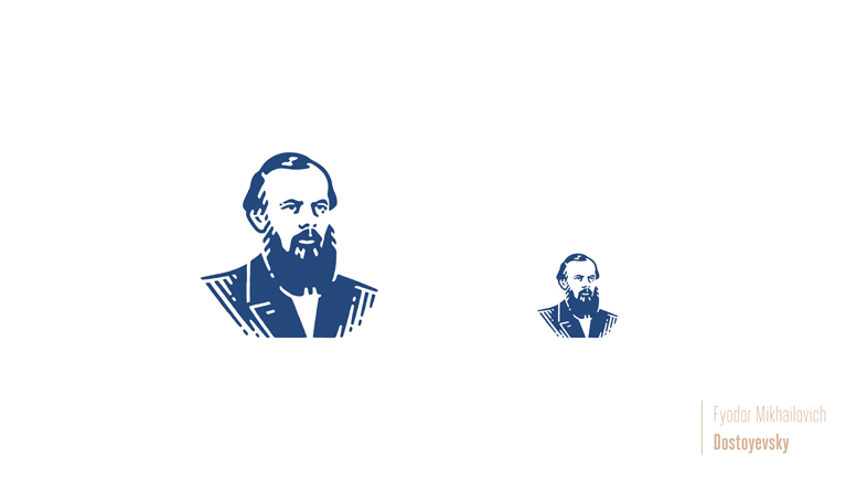 figurines literatura rusa