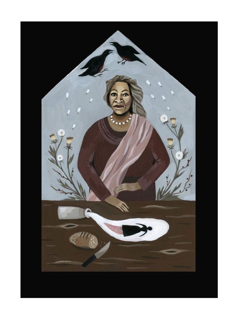 brujas literarias en dibujos