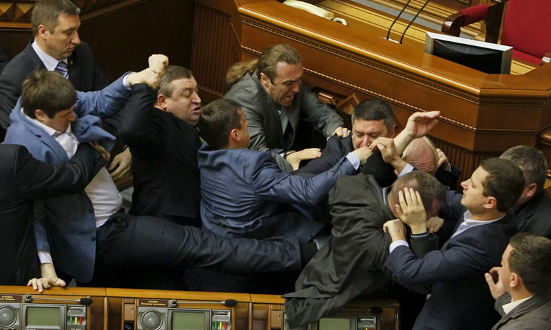 Diputados en Kiev, 2014. (Foto: Valentyn Ogirenko / Reuters)