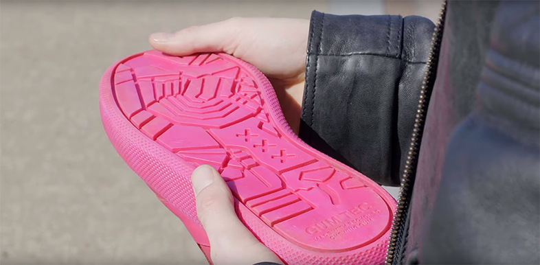 Suelas Zapatillas Las Hechas De Con Podrían Tus Los Chicles Estar 0kNnOwX8ZP
