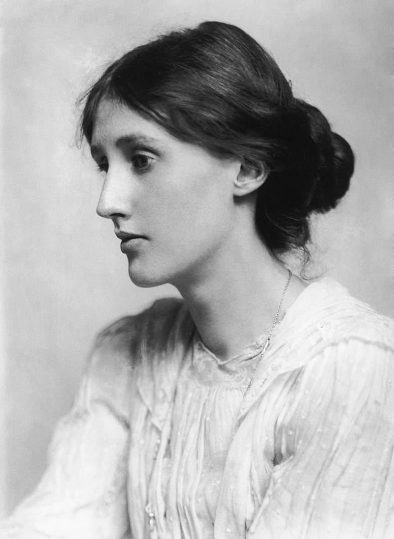 Virginia Woolf con 21 años