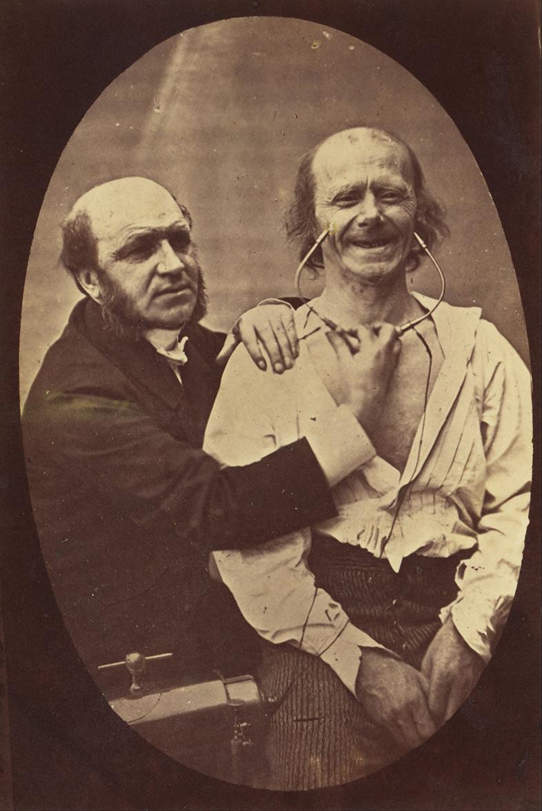 Guillaume-Benjamin Duchenne (French, 1806 - 1875). 'Mecanisme de la Physionomie Humaine ou Analyse Electro-Physiologique de l'Expression des Passions'