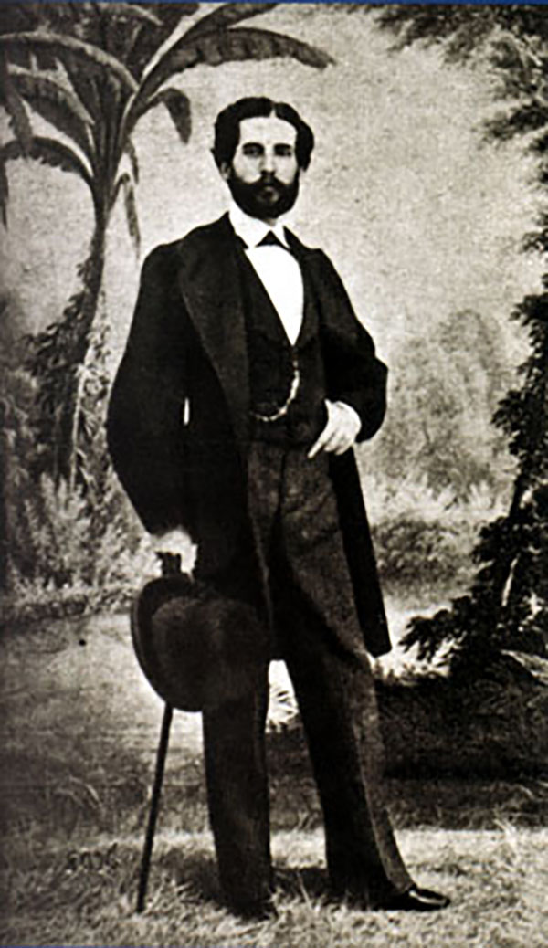 Bécquer, por Jean Laurent (1865)