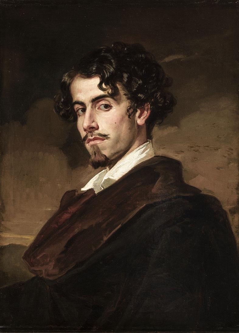 Gustavo Adolfo Bécquer retratado por su hermano Valeriano (1862)