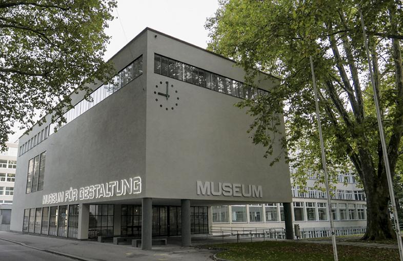 Zuerich, Museum fuer Gestaltung
