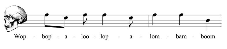 musica de huesos huesograma
