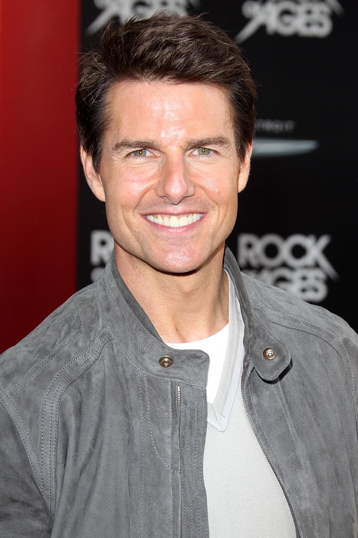 Tom Cruise tiene una sonrisa canina. Foto: Kathy Hutchins-Shutterstock