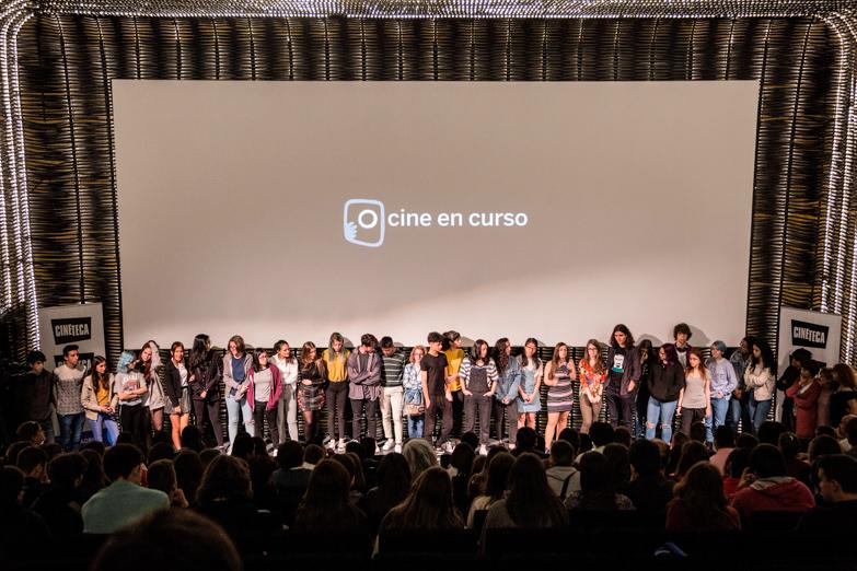 IES Rey Pastor durante su presentación en la Cineteca de Madrid
