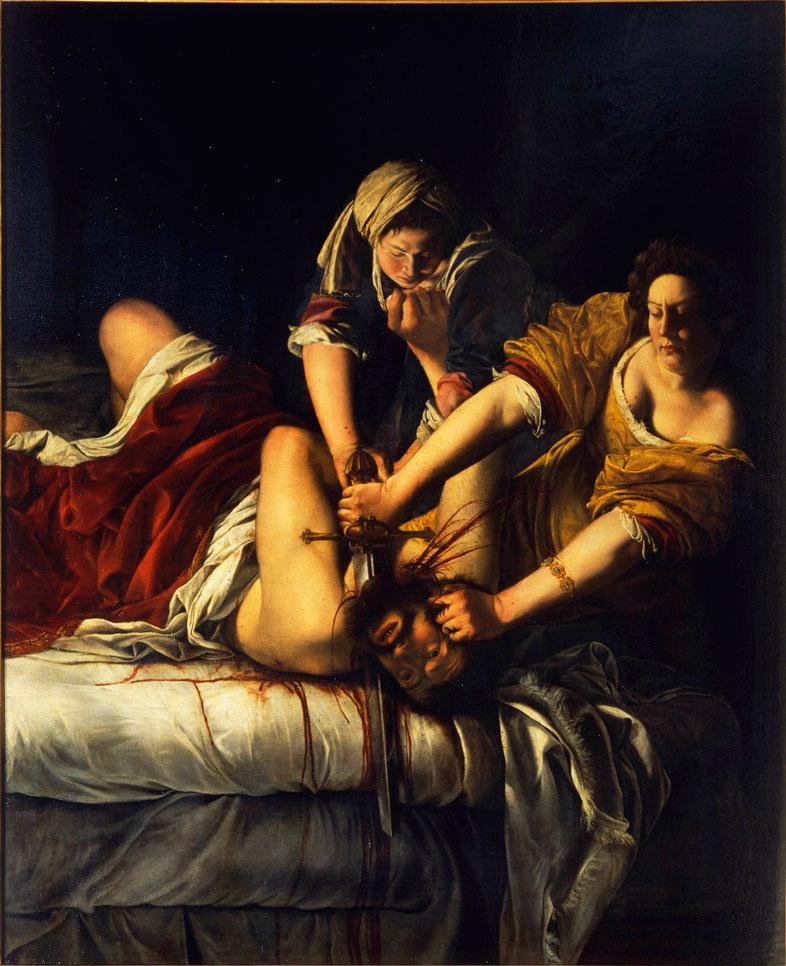Judith decapitando a Holoformes