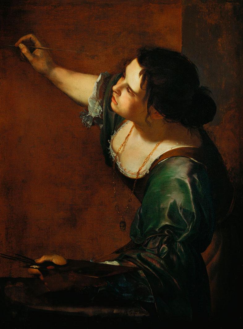 Alegoría de la pintura. Autorretrato