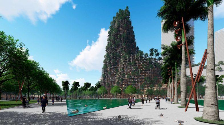 La ciudad china diseñada por un español: los edificios producirán energía con 'blockchain'