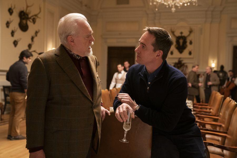 Succession - Logan (Brian Cox) y Tom (Matthew Macfadyen)