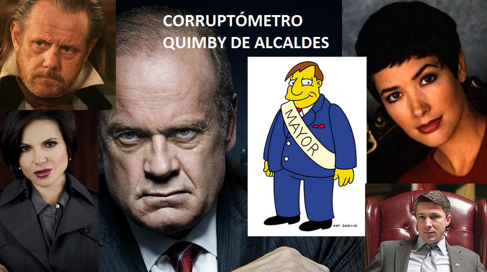 Alcaldes de series de televisión