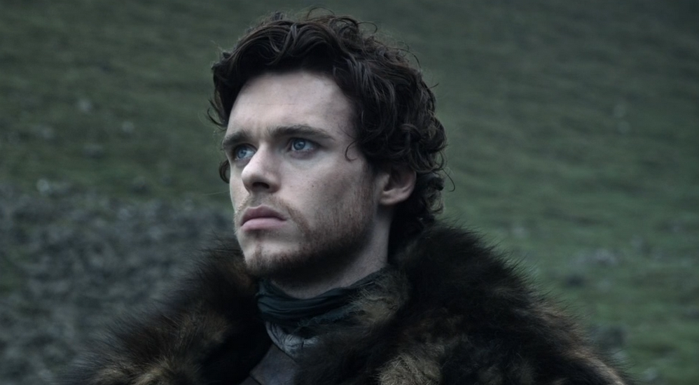 Robb Stark, el joven señor de la guerra.