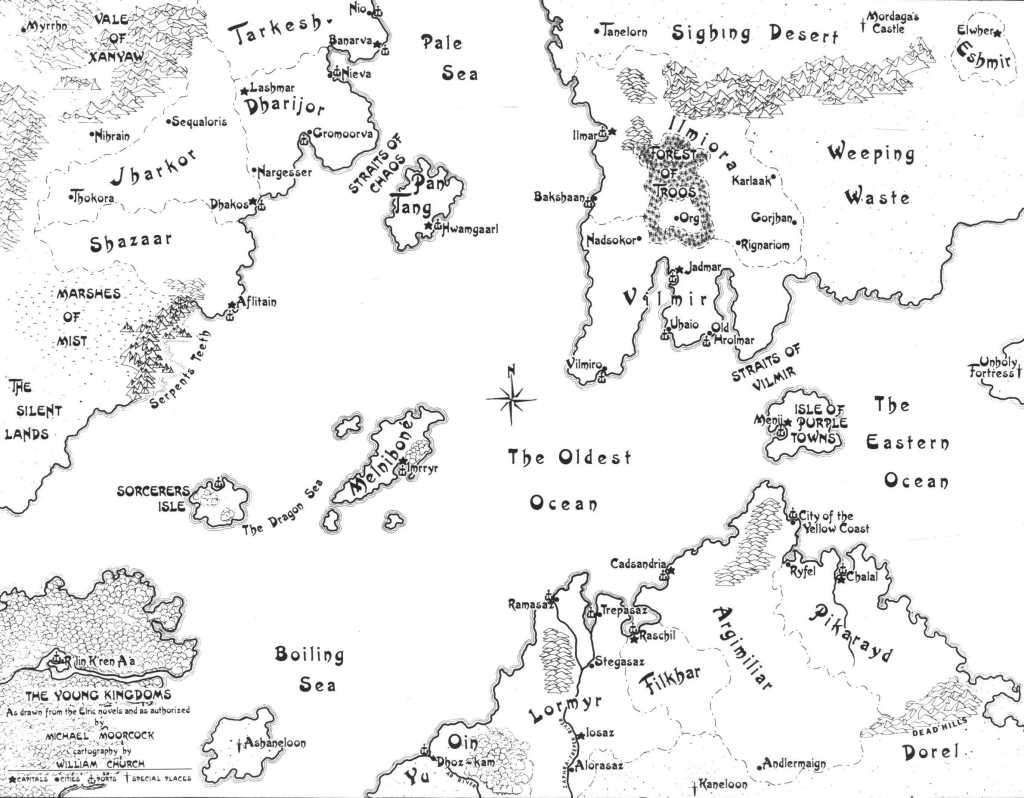 Mapa de los Reinos Jóvenes