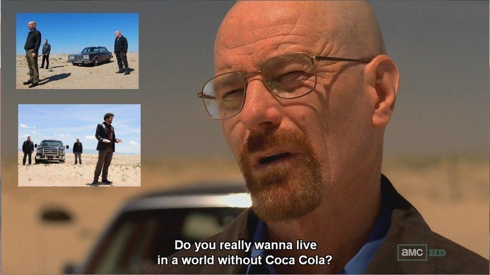 Breaking Bad y Coca-Cola