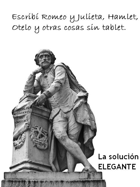 Shakespeare sin tablet