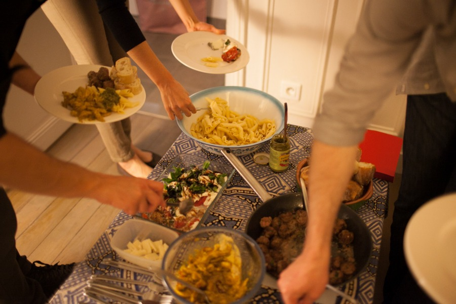 Mealshare Palestina en París