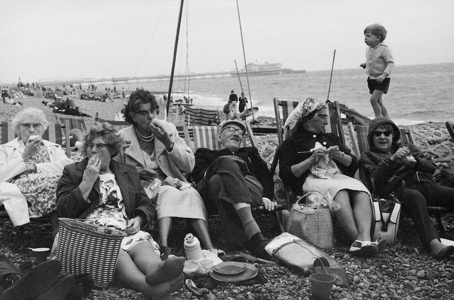 Brighton Beach , 1966 by Tony Ray-Jones © National Media Museum