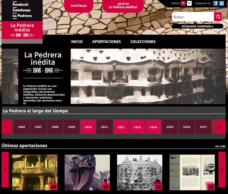 La web del proyecto.