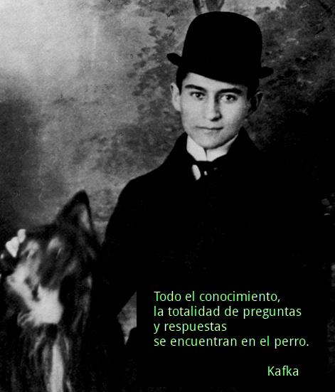 Kafka y su perro