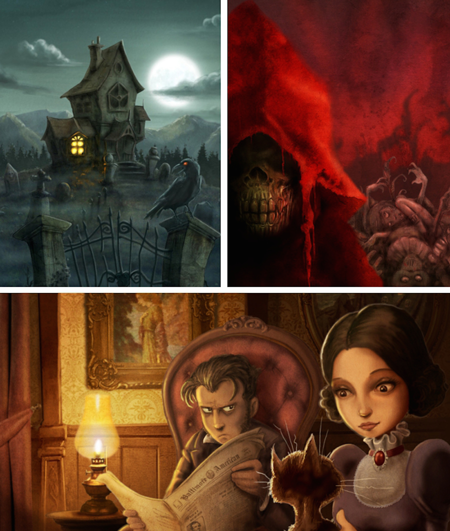 Davig_G_Fores_Poe_illustrator