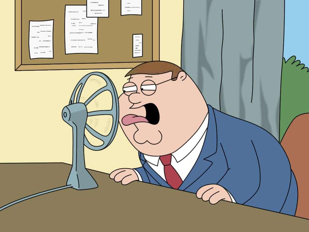 Peter Grifin, cretino, mala persona, mal padre