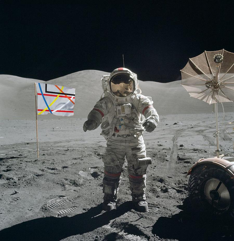 space program flyer