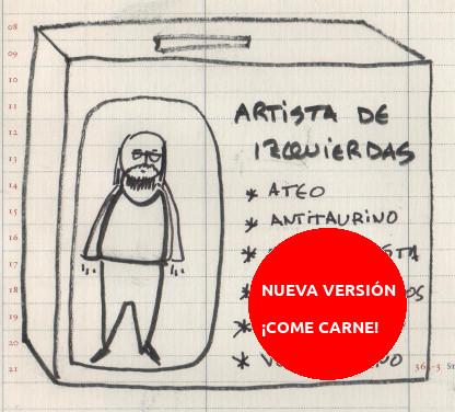 Artista de izquierdas, nueva versión