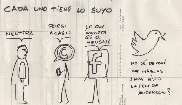 Redes sociales, cada uno lo suyo