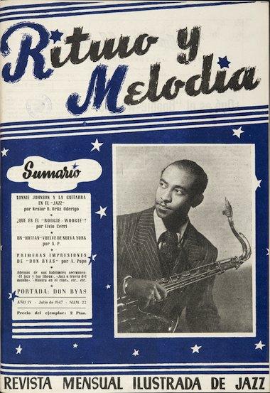Revista Ritmo y Melodía 1947 - Biblioteca Nacional