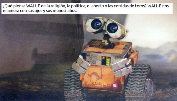WALL-E y sus ojazos