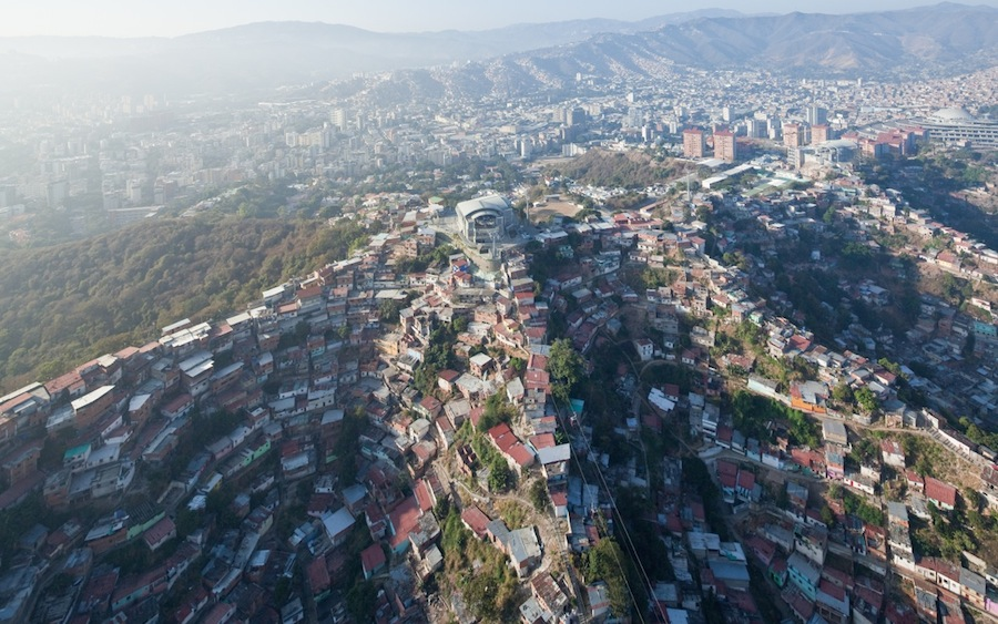 Caracas Metro Cable aerial 9231