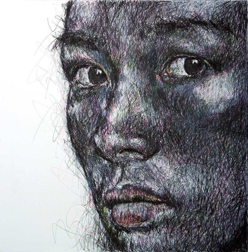 Portrait_Crayon